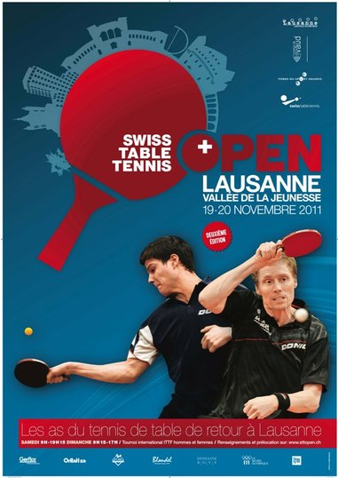 Tennis de table des stars internationales lausanne - Tableau tournoi tennis de table ...